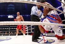 Haye, cu un picior in podea, Vladimir Klitschko - dominator