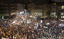 Zeci de mii de protestatari stransi sambata la Tel Aviv