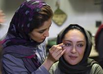 Pe un platou de filmare iranian