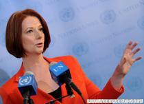 Julia Gillard, premierul Australiei