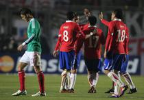 Chile, victorie contra Mexicului