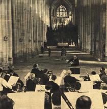 Constantin Silvestri dirijând Bournemouth Symphony Orchestra