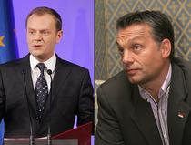 Donald Tusk si Viktor Orban