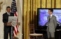 Barack Obama a raspuns intrebarilor utilizatorilor Tweeter
