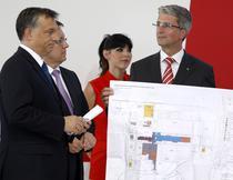 Audi incepe extinderea uzinei ungare