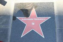 Alexandru Tocilescu pe Aleea Celebritatilor