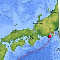 Localizarea cutremurului