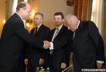 Traian Basescu si Dan Voiculescu