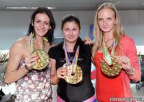 Tripleta de aur de la tineret: Andreea Ograzeanu, Bianca Perie, Esthera Petre