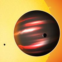 Cea mai neagra planeta (model)