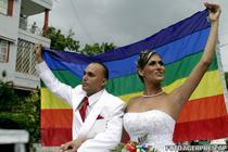 Prima nunta dintre un homosexual si un transsexual in Cuba