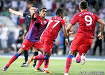 Steaua, victorie cu U Cluj
