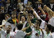 Spaniolii sarbatoresc titlul european la Chiajna