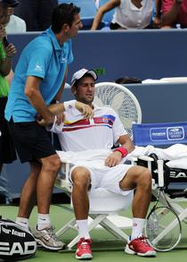 Nole, invins de accidentare
