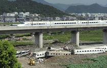 China nu a avut timp sa se bucure de noile trenuri de mare viteza