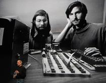 Steve Jobs alaturi de co-fondatorul Apple, Steve Wozniak