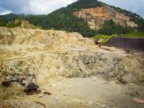 Zona miniera de la Rosia Montana