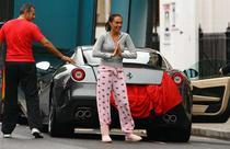 Tamara Ecclestone primeste un Ferrari 599 GTO