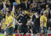 """All Blacks"", invinsi de Australia, cu doua saptamani inainte de Cupa Mondiala"