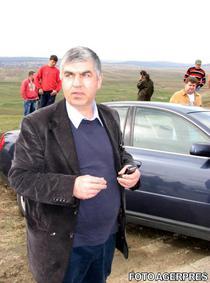 Ioan Amarie, la locul accidentului