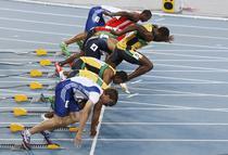 FOTOGalerie: Finala de 100m la Daegu