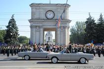 Parada militara de ziua Republicii Moldova