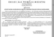 Decizia din Monitorul Oficial