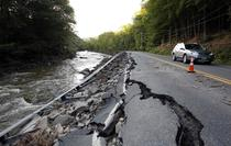 Drum distrus de furtuni in Vermont
