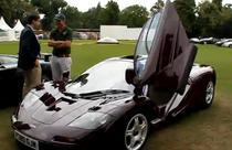 Masina McLaren F1 a lui Rowan Atkinson (prezentata la un concurs)