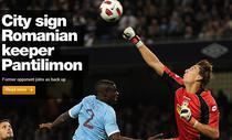 Pantilimon, noul jucator al lui City