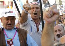 Sustinatorii lui Timosenko cer eliberarea sa