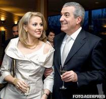 Calin si Ioana Popescu-Tariceanu, in 2005