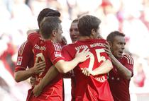 Bayern, festival de goluri cu Freiburg