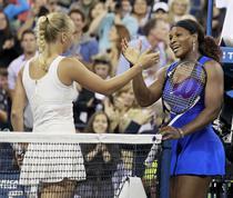 Serena, victorie cu Wozniacki