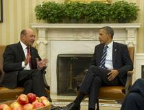 FOTOGALRIE Traian Basescu si Barack Obama, la Casa Alba