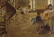 Edgar Degas, Repetitia