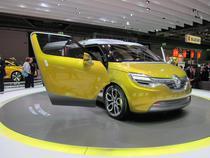 Renault Frendzy, desenat la Bucuresti