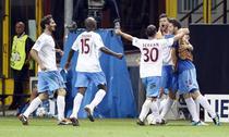 Trabzon castiga la Milano, prin golul lui Celustka