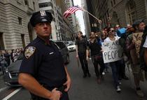 Protest impotriva bancilor
