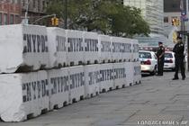 Masuri de securitate ale Politiei din New York, in fata sediului ONU