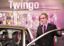 Fabrice Cambolive la evenimentul de lansare al Twingo in Romania