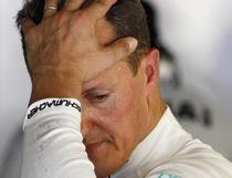 Michael Schumacher, dezamagit