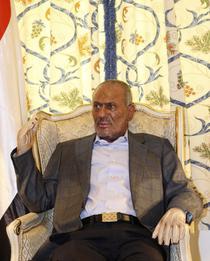 Presedintele yemenit Saleh in Arabia Saudita