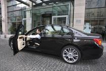 Parcare cu valet, hotel Radisson