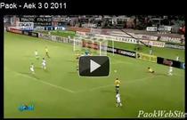 Boloni, succes categoric cu AEK Atena