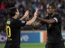 """Messi (stanga), """"dubla"""" cu BATE Borisov"""