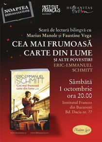 Cea mai frumoasa carte din lume, de Eric-Emmanuel Schmitt