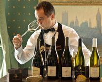 Degustare de vinuri la salon