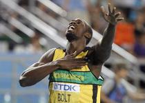 """Bolt, """"regele"""" lumii la 200 de metri"""