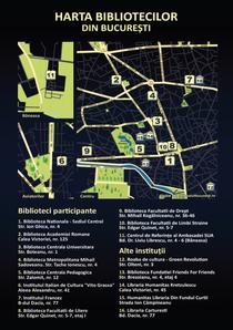 harta Noaptea Bibliotecilor (Bucuresti)